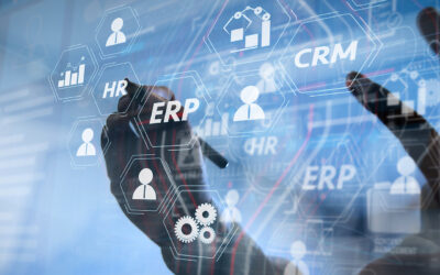 How does an integrated CRM with ERP lend itself as a differentiator?